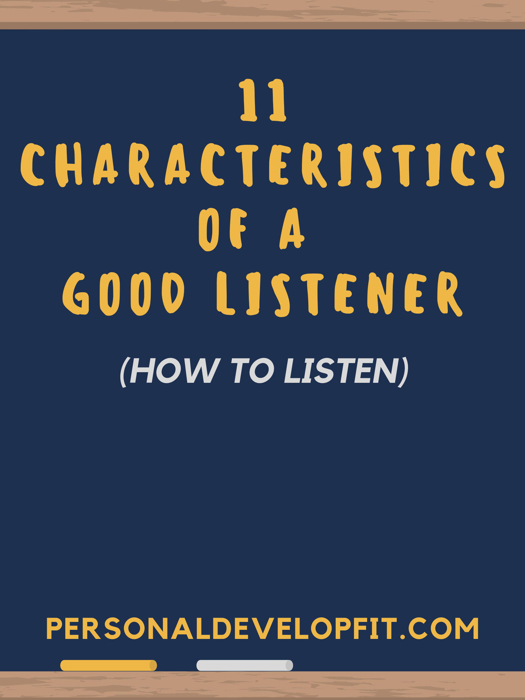 how to listen 11 best characteristics of a good listener