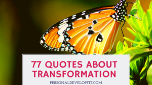 quotes about transformation