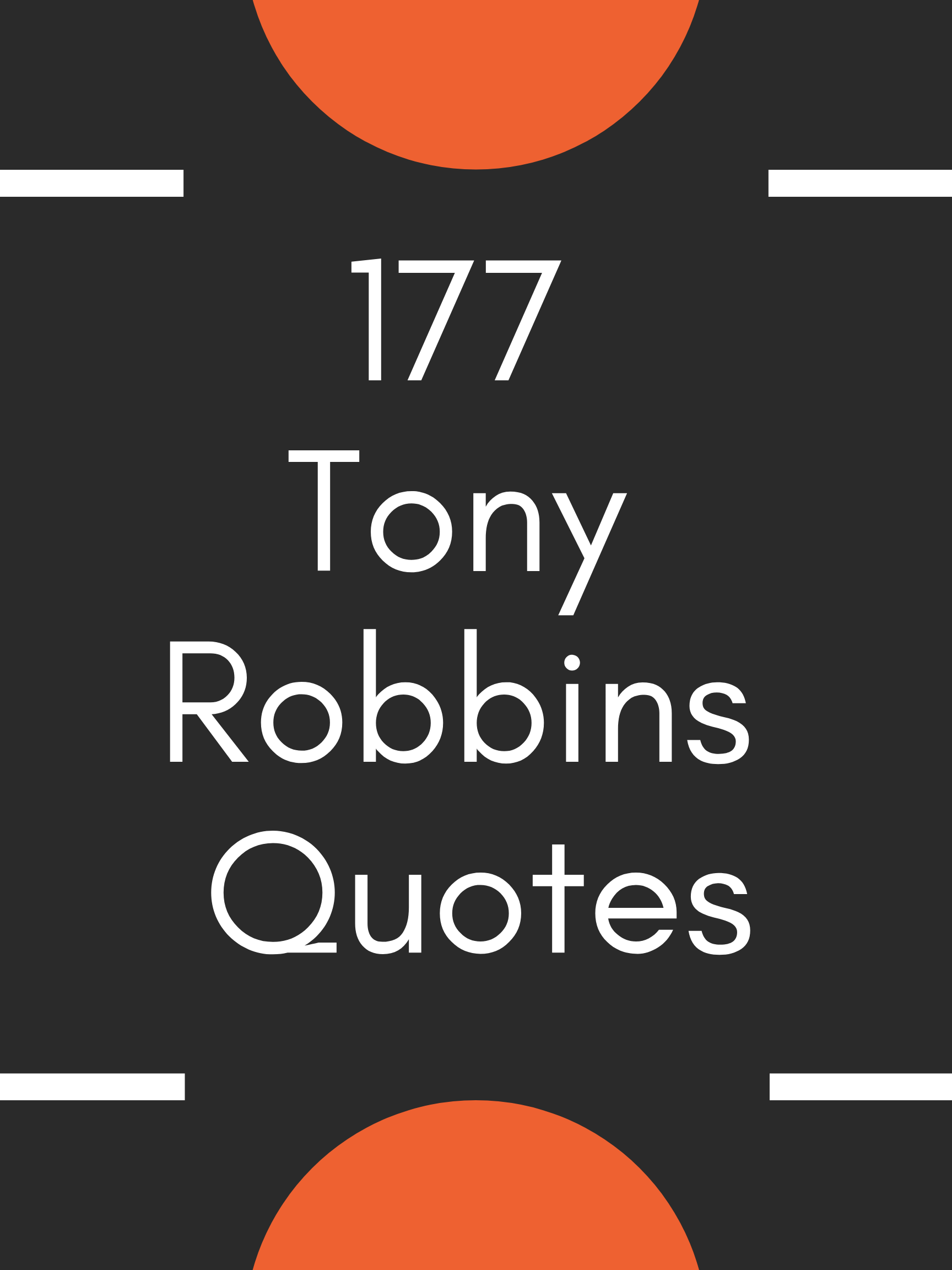 177 Tony Robbins Quotes The Ultimate List