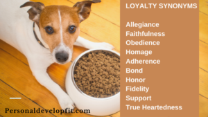 loyalty synonyms