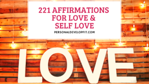 affirmations for love