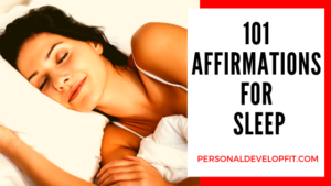 affirmations for sleep