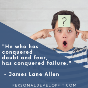 quotes about self doubt