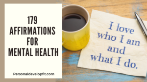 affirmations for mental health