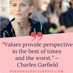 quotes on values