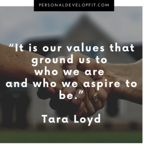 quotes about values